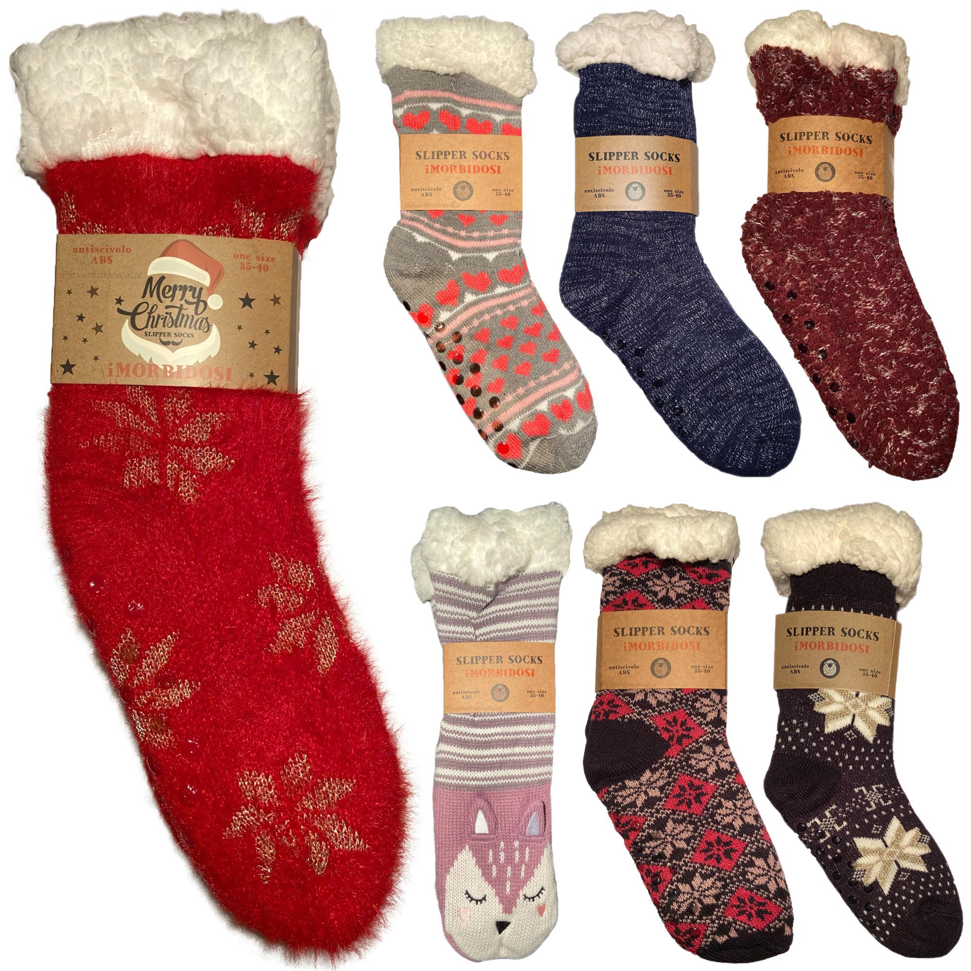 5 Pacco TAGVO Invernali Babbucce Calzini Soffici Calzini Calzini Pantofola Termica Calzini Casual da Donna Ragazze